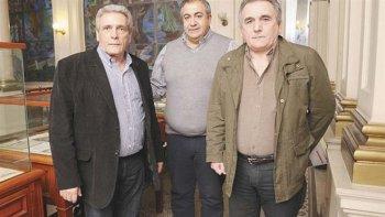 Héctor Daer ratificó la continuidad del triunvirato que comparte con Juan Carlos Schmid y Carlos Acuña en la CGT.