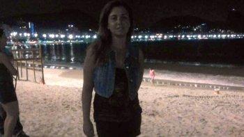 turista argentina fue baleada en rio de janeiro