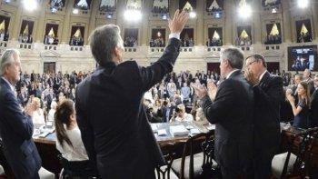 Macri enfrenta por segunda vez a la Asamblea Legislativa.