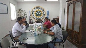 El secretario de Pesca de Chubut, Adrián Awstin, mantuvo una reunión con el Sindicato de la Industria de la Alimentación para diagramar un trabajo que permita garantizar los puestos de trabajo en el sector.
