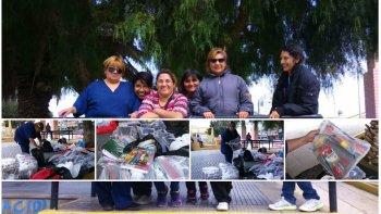 Reunieron decenas de kits escolares para los hijos de los textiles