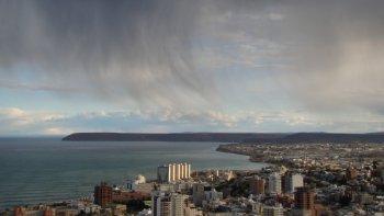 domingo nublado con probabilidad de lluvias