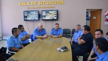 La nueva Comisión del Consejo del Bienestar Policial quedó conformada ayer en la Sala de Situación de Jefatura de Policía en Rawson.
