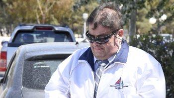 El docente Eduardo Navarro en noviembre de 2016 fue condenado a cinco años de prisión efectiva por abuso sexual simple y agravado.