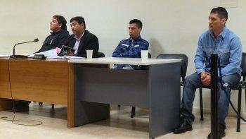 Claudio Vera, Misael Henríquez y Miguel Baeza están imputados por el homicidio de Néstor Vázquez.