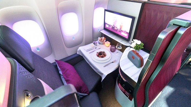 Las cabinas cuentan con entretenimiento a bordo gracias a la nueva interfaz Oryx One.