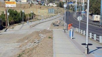 La dársena en la zona del Corralón, sobre la Ruta 3, es encarada con fondos municipales.