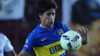 El mediocampista Pablo Pérez reaparecerá esta tarde en la formación titular de Boca.