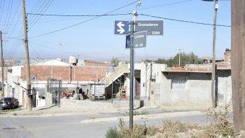 El sector del barrio La Floresta donde se produjo la agresión.