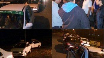 asaltaron con un cuchillo a un taxista y le robaron hasta las zapatillas