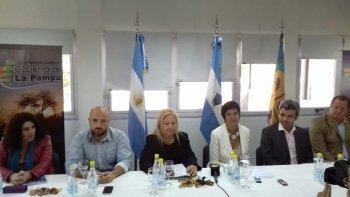 El secretario de Cultura, Matías Cutro, participó de la reunión del Ente Patagónico de Cultura en La Pampa.