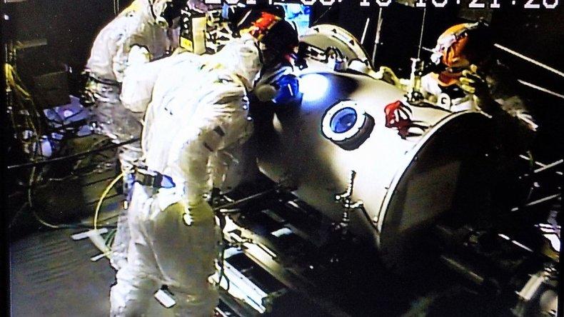 Robot midió la radiación mortal dentro de uno de los reactores de Fukushima