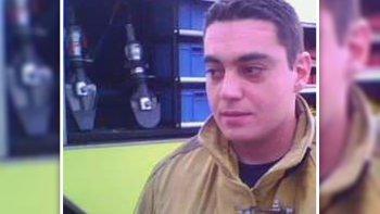 se cumple un ano de la muerte del bombero luis gramajo