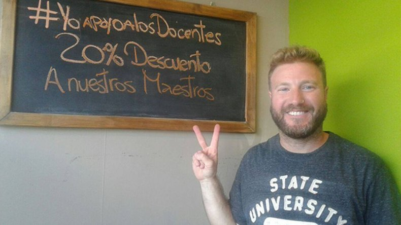 En apoyo a la lucha docente ofrecen descuentos del 20% a los maestros