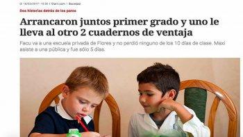 Critican con dureza una nota periodística que desprestigia la escuela pública.