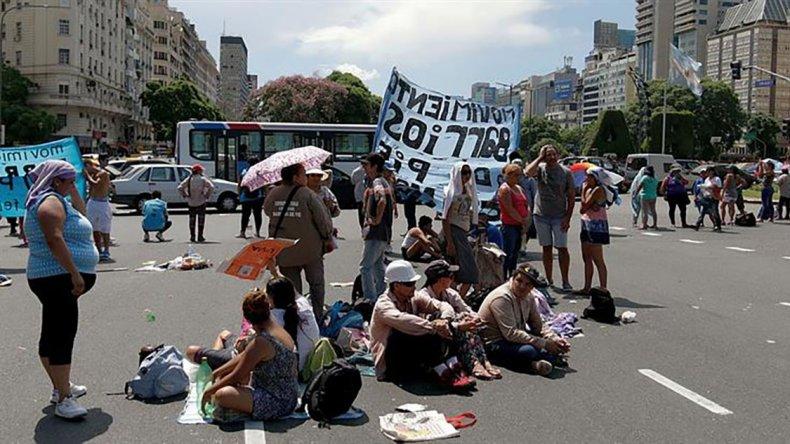 El primer año de gestión de Macri arrojó un saldo de 17 protestas callejeras por día en todo el país.
