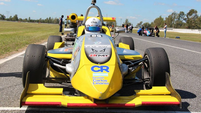 Renzo Blotta y su segunda experiencia en la Fórmula 4 Nueva Generación.