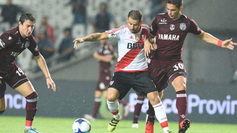 La última vez que se enfrentaron River y Lanús fue en La Plata por la final de la Supercopa Argentina y la victoria fue granate.