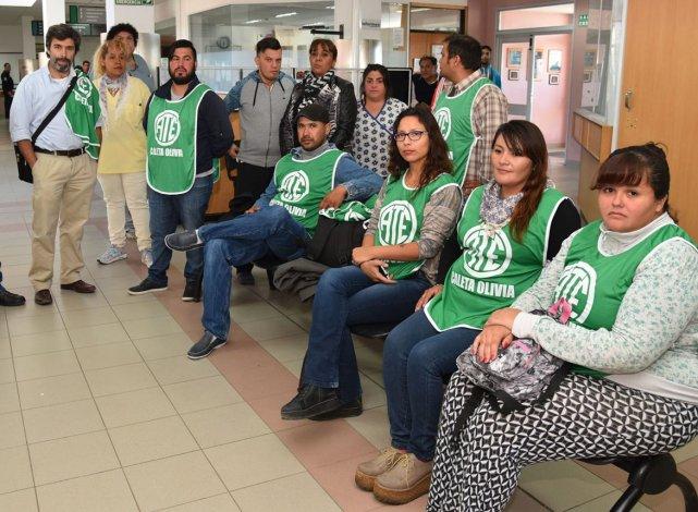 Trabajadores del ámbito de la salud afiliados a ATE