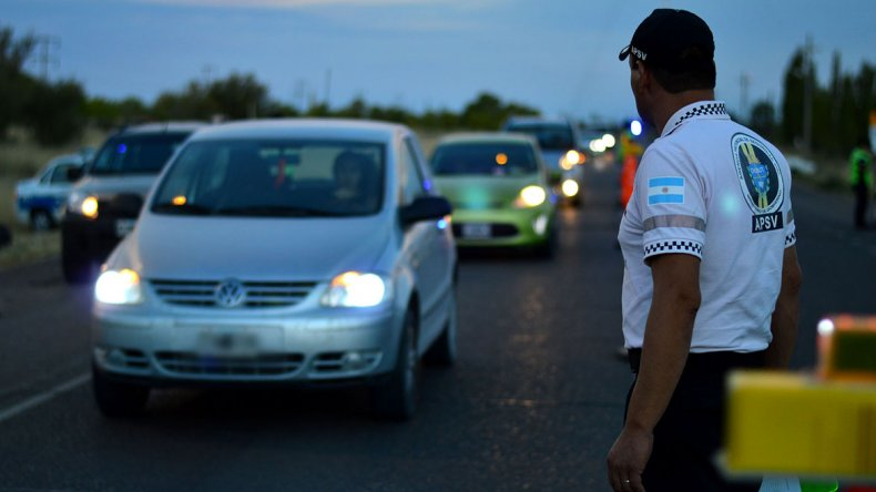 La Agencia Provincial de Seguridad Vial controló durante este fin de semana más de mil vehículos