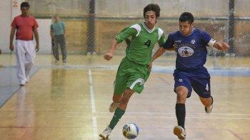 El fútbol de salón de la Asociación Promocional tuvo actividad por el torneo Apertura en el gimnasio municipal 2.