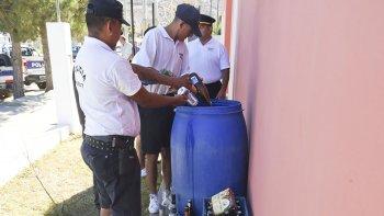 En Rada Tilly la policía y Seguridad Urbana del municipio trabajaron de manera conjunta en el verano decomisando bebidas y deteniendo vehículos en infracción.