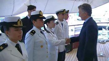 Macri ordenó zarpar a la Fragata Libertad.