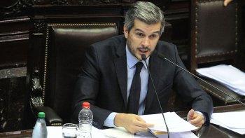 Informe en Diputados del Jefe de Gabinete, Marcos Peña Braun.
