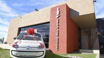 El sorteo de un Volkswagen Up le pondrá el broche de oro a una noche de celebración.