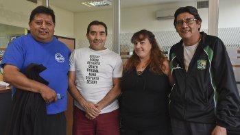 Dirigentes de Laprida invitaron a la comunidad a sumarse a las actividades por un nuevo año de vida de la entidad deportiva.
