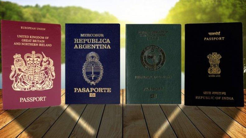 ¿Qué significan los colores que tienen los pasaportes?