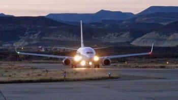 se normalizaron los vuelos a comodoro