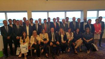 El encuentro que organizó el Ente Oficial de Turismo Patagonia Argentina se desarrolló en Paraná y contó con la participación del ministro de Turismo, Herman Müller.