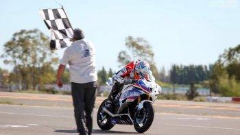 El comodorense Federico Zapata se quedó con la primera fecha del Campeonato Argentino de Superbike.
