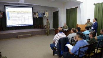 Autoridades municipales, veteranos y fuerzas de seguridad definieron las actividades para el 2 de Abril.