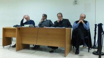 Martín Buzzi y Néstor Di Pierro deberán sentarse hoy en el banquillo de los acusados.