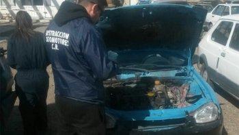 La División Sustracción Automotores secuestró el vehículo mellizo en un control de tránsito efectuado junto a policías de Kilómetro 8.