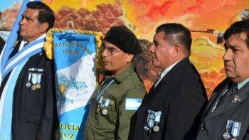Los Veteranos de Guerra residentes en Caleta Olivia serán los principales protagonistas del acto que se realizará el domingo en la plaza Islas Malvinas.