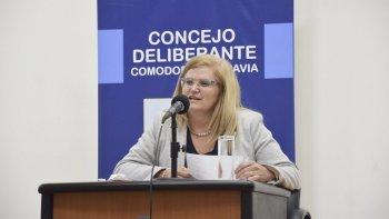 Las Jornadas de capacitación sobre prevención de violencia son organizadas por la concejal Norma Contreras.