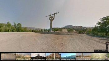 el cruce de los andes ya se puede recrear en google street view