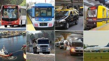 Los diferentes gremios del transporte ya anticipan su adhesion al paro del 6 de abril.