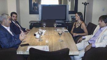 En Buenos Aires, Martínez Zapata y Adrián López recibieron con orgullo los comentarios de los abogados que promueven juicios por jurados.