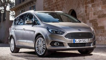 Se viene la nueva generación del Ford S-Max