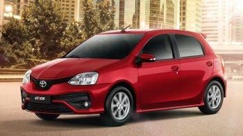 La actualización del Toyota Etios llegó a la Argentina
