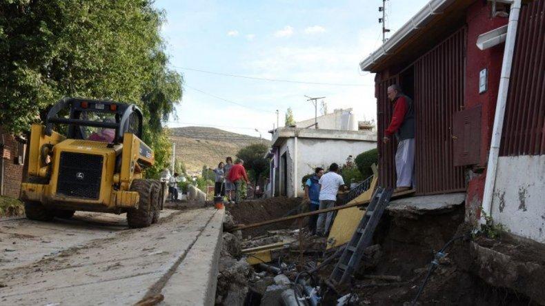 Cerca de 3000 registros de daños domiciliarios y en la vía pública