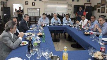 Jorge Triaca y los gremios transportistas dialogaron sobre varios temas.