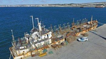 El pesquero de origen chino fue secuestrado hace dos años por las autoridades nacionales.