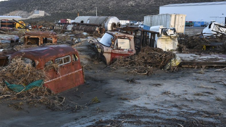 Los Arenales, dos semanas sin agua. Fotos: Mauricio Macretti/El Patagónico