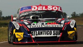 Marcelo Agrelo fue ayer quinto en la primera serie del TC Pista donde hoy se correrá la cuarta fecha.