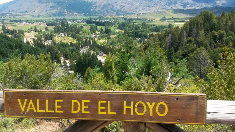 El Hoyo es un destino clásico de Patagonia.